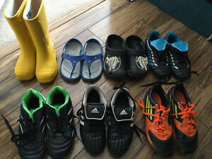 Kids Cleats, Sandals and Rubber Boots!
