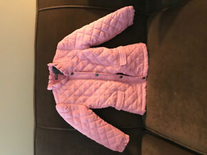 Size 5 Kenneth Cole spring jacket -pink