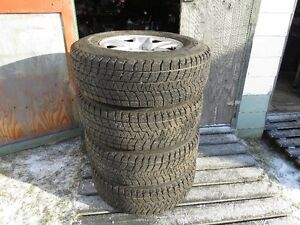 "4 Bridgestone Blizzak 18"" Tires & Steel Rims P265/70R"