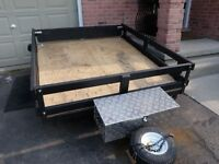 UTILITY TRAILER WITH MANY UPDATES