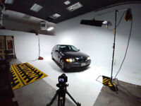 Photo Studio Rental (680sqft) Cyclorama!