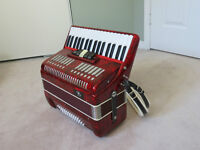 48 keys supra style accordion