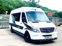 Mercedes Sprinter Camper Van / Motorhome With Garage / Race Van / Mx Van