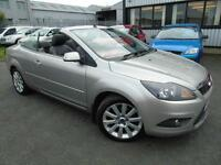 2008 Ford Focus CC 2.0TDCi - Silver - Long MOT 2017 + CONVERTIBLE + LEATHER!
