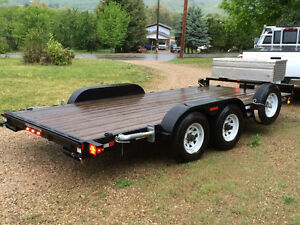 2013 Sure-Trac 10,000lb car hauler, trailer