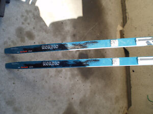 Nordic Trak and Karhu Cross Country Skis with Bindings