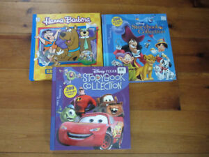 3 Hard cover Story books