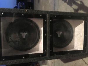 10 inch jl audio speakers with amp