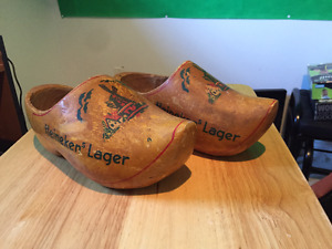 Wooden Heineken Lager Shoes