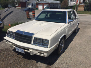 1986 Chrysler Newyorker - Only 65,000kms!! Original.