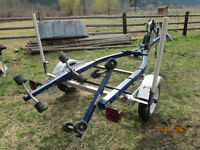 EZ loader boat trailer