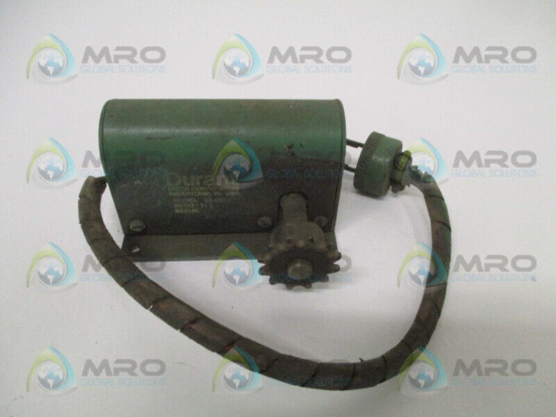 DURANT ES-9512 ROTARY CONTACTOR RATIO 1:1 * USED *