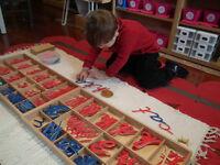 Montessori Preschool in Douglasdale