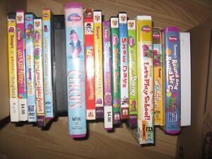 Barney movies vhs and dvd