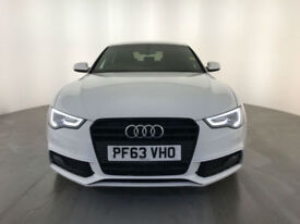 2014 AUDI A5 S LINE BLACK EDITION TDI DIESEL 1 OWNER FROM NEW FINANCE PX