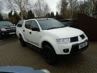 2012 Mitsubishi L200 2.5 DI-D Barbarian Black Edition 1 Owner NO VAT !!