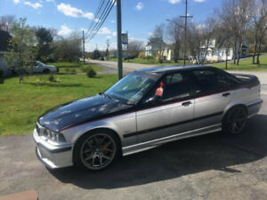 Selling a 1997 BMW M3. 5 speed, 6 cylinder. Motor was completely