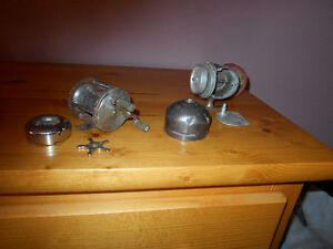 old fishing rod pieces