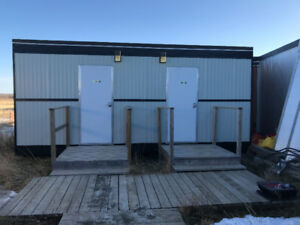Skidded Washroom - Modular Washroom - Modular washcar