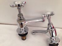 Original vintage Bristan Birmingham mixer taps bathroom