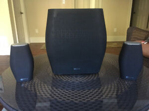 Monitor Audio MASS W200 Sub-woofer with two MASS 10 Satellites
