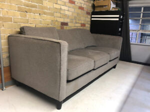 Beautiful Grey Couch from Urban Barn