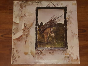 LED ZEPPELIN IV -  LP RECORD ALBUM - VINTAGE