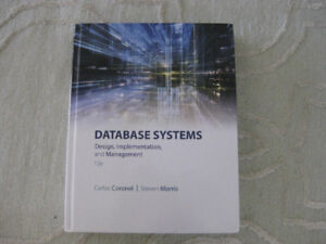 Database Systems: design, implementation and management  12e