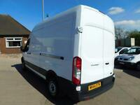 FORD TRANSIT 2.2TDCI 100PS 6 SPEED LWB HIGH ROOF L3 H3 F/S/H FINANCE ARRANGED