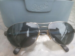 3e261e9b973 Persol Aviator Sunglasses 2219 Polarized Made In Italy Rare