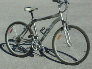 "LARGE ADULT 26"" INFINITY PREMIER 21 SPD MTB + SHOCKS $135.00!"
