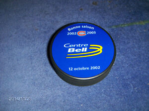 CENTRE BELL-NHL-VINTAGE HOCKEY PUCK-SEASON 2002-2003