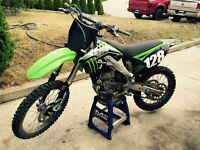2009 Kawasaki KX250 4 stroke for sale