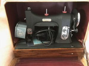 White model 77 sewing machine - very strong
