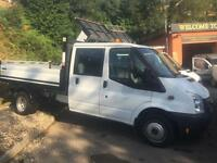 2013 62 Ford Transit 2.2TDCi ( 125PS ) ( EU5 ) ( RWD ) Double Cab LWB TIPPER