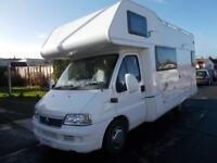 Geist Touring 75 2007 2.8 T/Diesel Motorhome 6 Berth Rear Fixed Bed Low Mileage