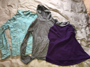 Lululemon and other athletic ware