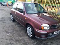 Nissan Micra 1.0 Low mileage with full service history +Not Ford Focus Fiesta Audi Golf Astra