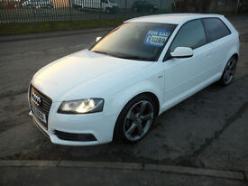 AUDI A3 2.0 DIESEL BLACK EDITION 3 DOOR AUTO