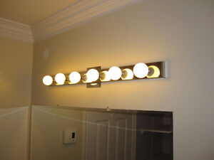 Vanity Lights Chrome Color qty3