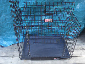 KONG® Space Saving Double-Door Pet Cage / Crate