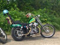 Harley 1200 chopper