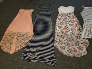 6 dresses and 16 tank tops/t-shirts