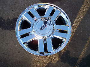 ford 6 bolt chrome 18 inch wheels , southern extra clean