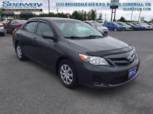 2012 Toyota Corolla CE  -  CD Player - $80.58 B/W
