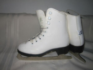 Girl's Figure Skates Youth Size 10 (Two Pairs)