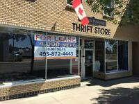 4000 sqft main floor commercial space downtown Red Deer!!