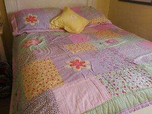 Bedding & Drapes for a Young Girl's Room