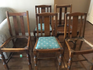 Dining or Kitchen chairs - as is