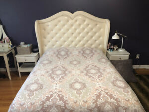 Bed frame, queen size, bedroom, special style
